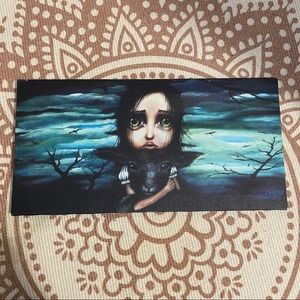 Canvas print of Clarice by Angelina Wrona